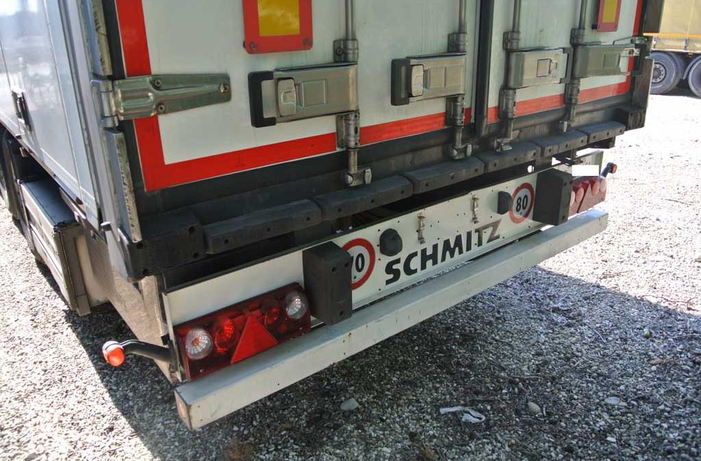 Semirimorchio furgonato porte laterali usato schmitz for Coil porte scorrevoli