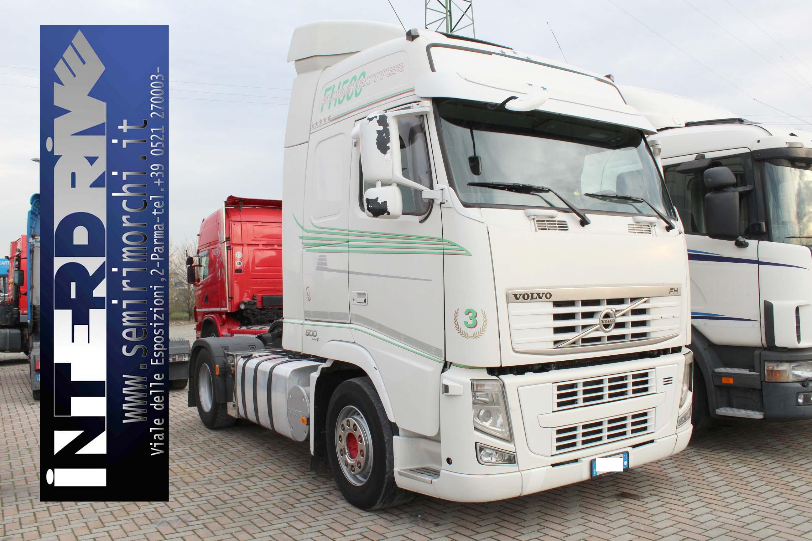 Volvo fh 500 adr trattore stradale usato for Rimorchio doppio uso usato
